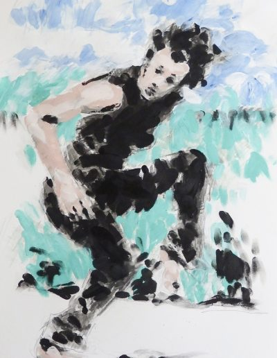 dance artwork print The Stomp