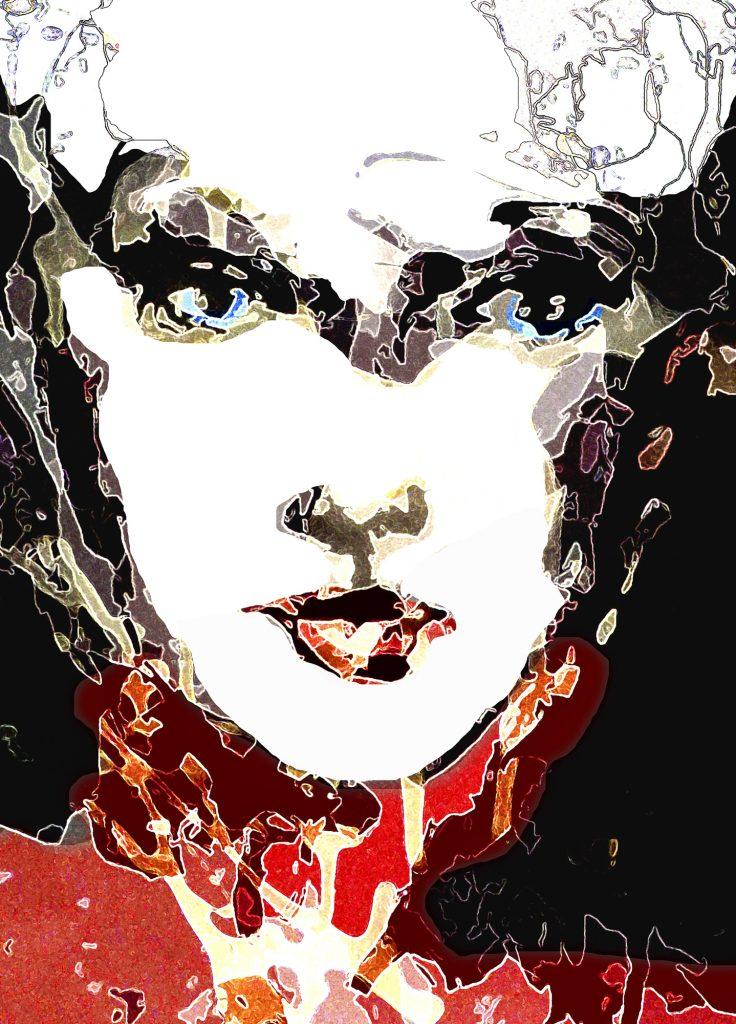 figurative art print The Beauty