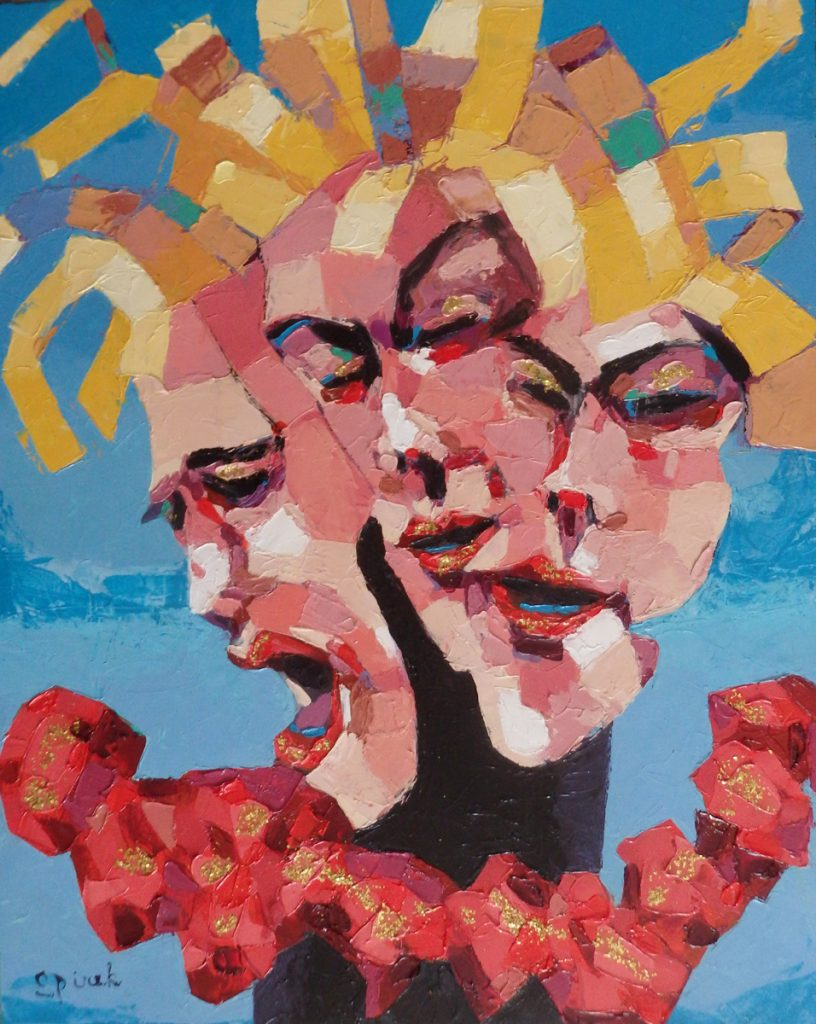 Hank Spirek figurative artwork - Goddess